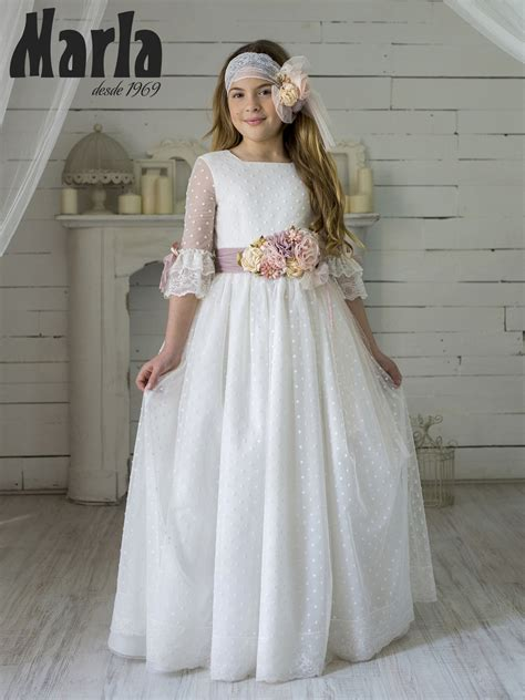 Vestido Comunión 2020 Marla Modelo K150 Vestidos De ...