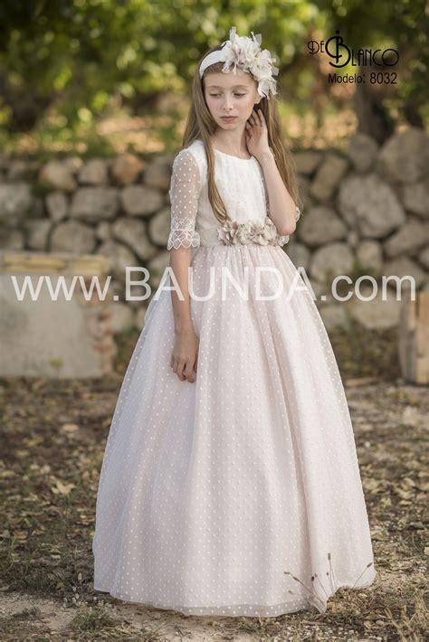Vestido comunión 2021 BLANCO 8023 Madrid y online