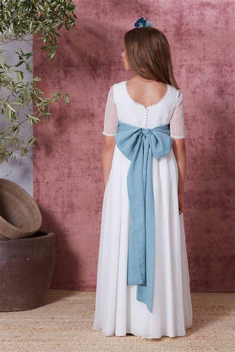 Vestido comunión 2021 Flor de C venta online y tienda