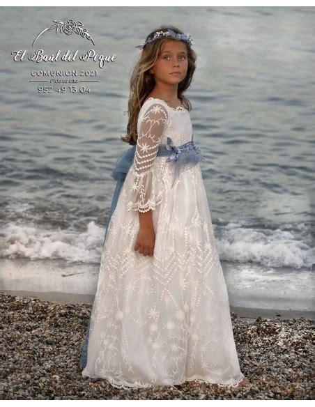 Vestido Comunión Modelo Eternity Colección 2021 de Mon Air