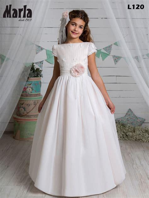 Vestido de Comunión L120 Colección 2021 by Marla ...