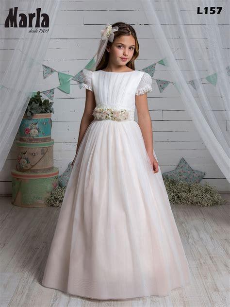 Vestido de comunión L157 Colección 2021 by Marla ...