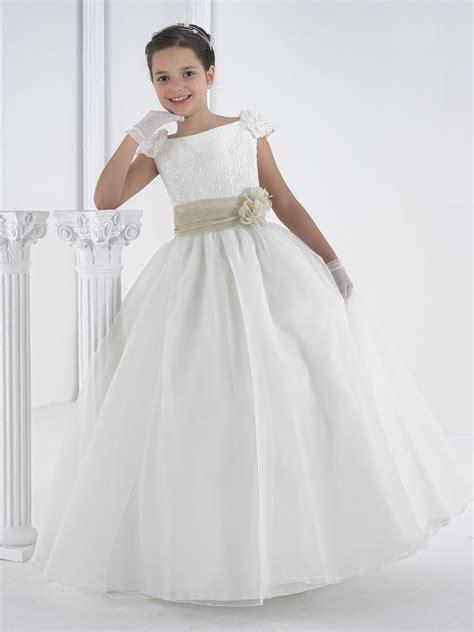 Vestido de comunión #niña. Colección 2014 | Comunión 2014 ...