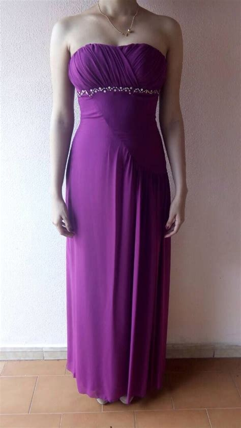 Vestido De Fiesta Largo Color Magenta   Bs. 40.000,00 en ...