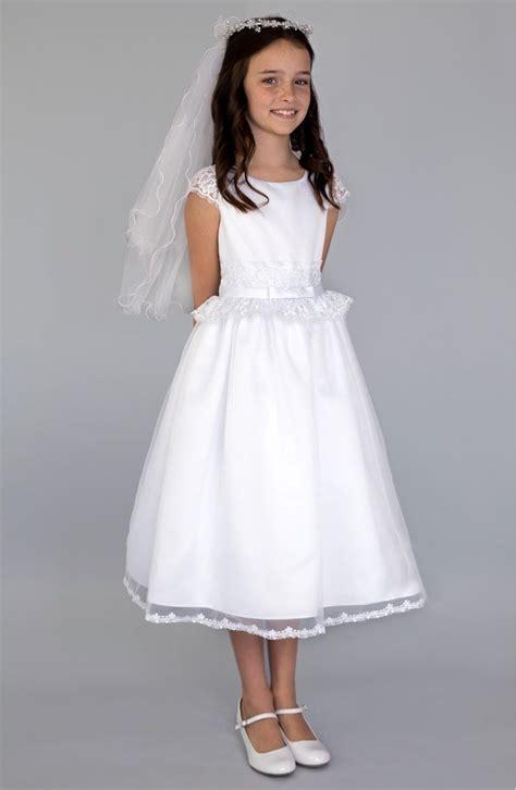 vestidos de primera comunion para niña sencillos | Sarah ...