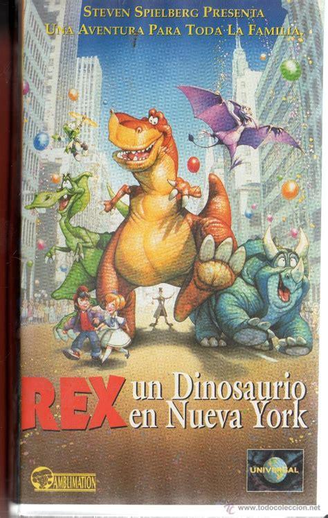 . vhs rex un dinosaurio en nueva york   Vendido en Venta ...