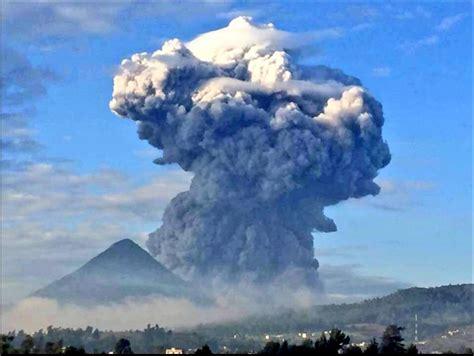Vía @alertachiapas: imágenes de la erupción de hoy del ...