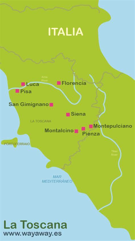 viajar a La Toscana en 4 días