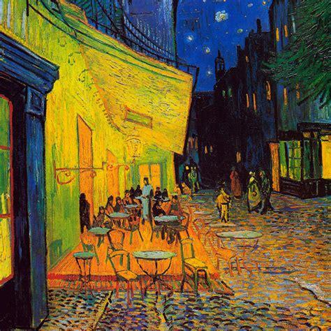 Viaje a un cuadro:  Terraza de café de noche , de Vincent ...