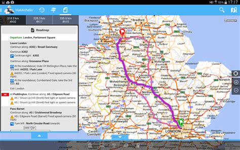 ViaMichelin Route planner,maps   Android Apps on Google Play