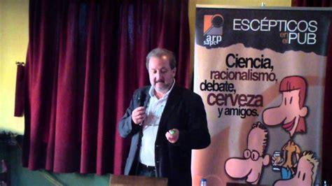 Vicente Baos en Escépticos en el Pub Madrid  Preguntas ...