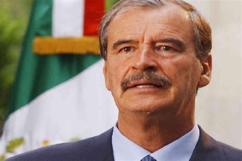 Vicente Fox dice que ahora difícilmente tiene para comer ...