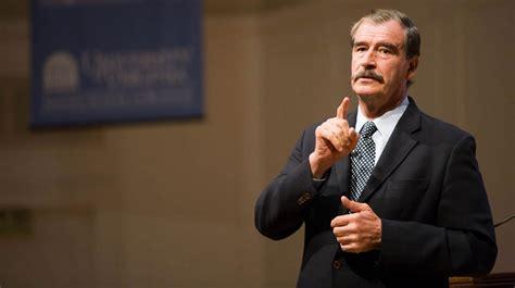 Vicente Fox es acusado de TERRORISMO contra México | La ...