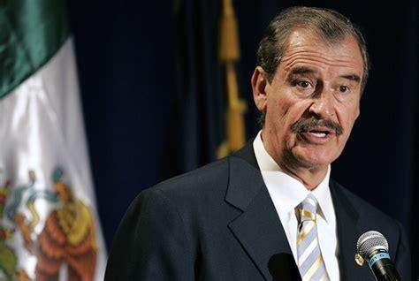 Vicente Fox expresó su apoyo y respaldo a las acciones ...