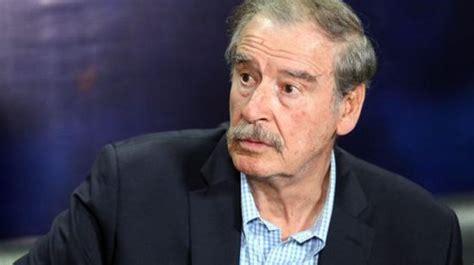 Vicente Fox le SUPLICA a AMLO deje de DESTRUIR el país que ...