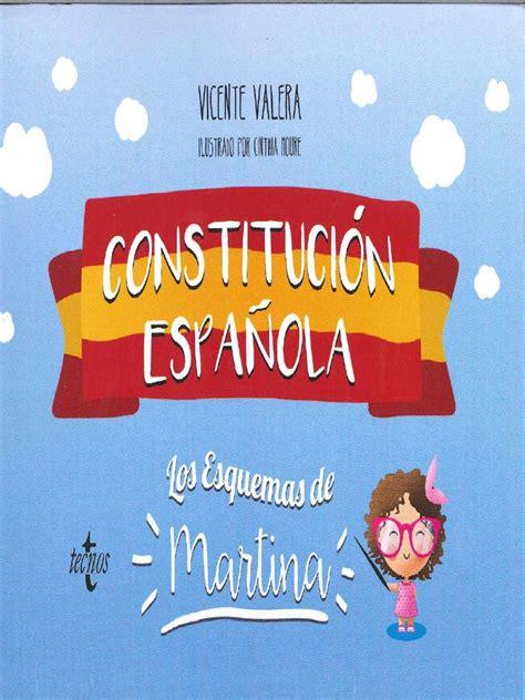 VICENTE VALERA Constitucion Española  Los Esquemas de ...