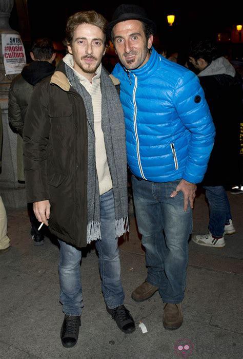 Víctor Clavijo y Luis Zahera en la manifestación de los ...