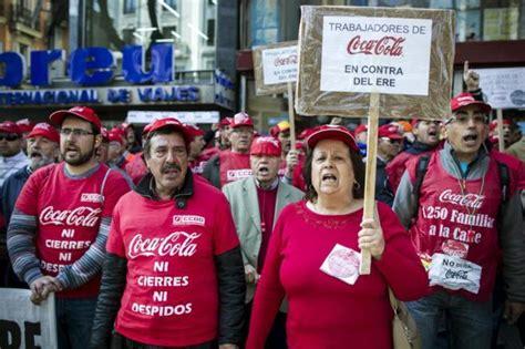 Victoria de los trabajadores de Coca Cola en España ...