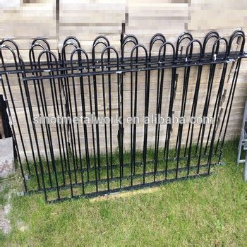 Victorian Style Antique Black Wrought Iron Fence Metal ...