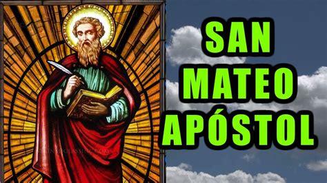 VIDA DE SAN MATEO APÓSTOL | LOS 12 DISCÍPULOS DE JESÚS ...