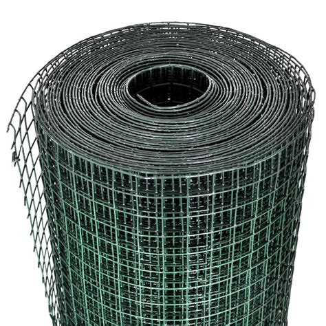 vidaXL.co.uk | Square Wire Netting 1x25 m PVC coated ...