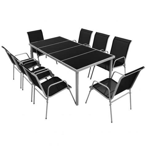 Vidaxl Conjunto De Muebles De Comedor Para Jardín 9 Piezas ...