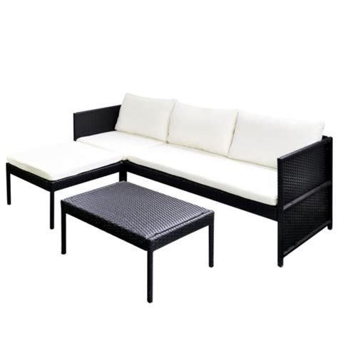 Vidaxl Conjunto De Muebles De Exterior 9 Piezas Poli Ratán ...