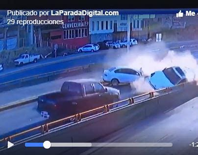 Video: Aparatoso accidente sobre La Cantera – Noticias de ...