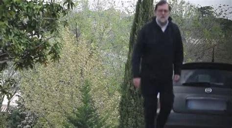 [Vídeo] Atención: ¡Mariano Rajoy se salta el confinamiento ...