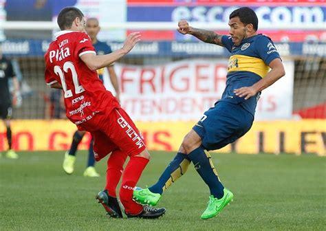 Video: Carlos Tevez scores brace, then breaks Ezequiel Ham ...