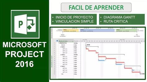 Vídeo Curso Project 2016, 100% En Español, Con Certificado ...