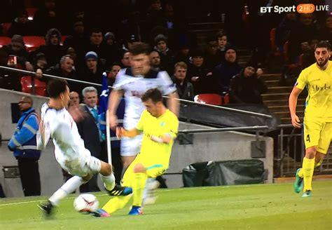 VIDEO: Dele Alli sent off for shocking tackle in Tottenham ...
