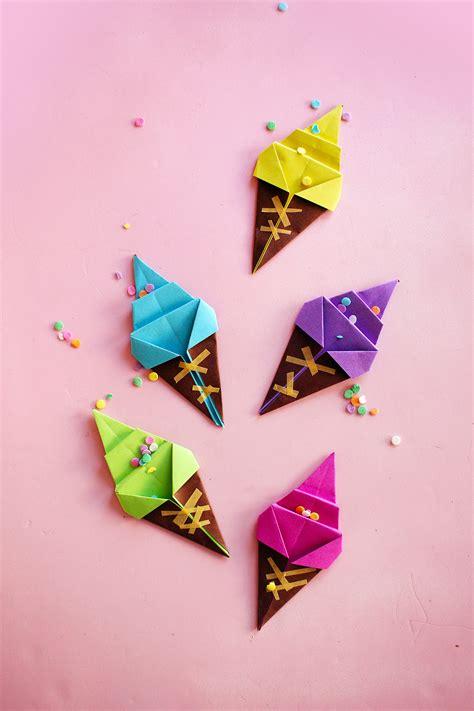 Vidéo DIY : l origami glace !   Poulette Magique