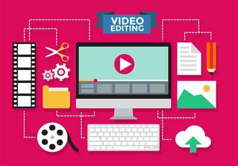 Video Editing Infographic Vector Template   Download Free ...