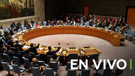 Vídeo: El Consejo de Seguridad de la ONU se reúne para ...