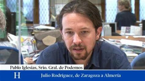 Vídeo: Entrevista con Pablo Iglesias