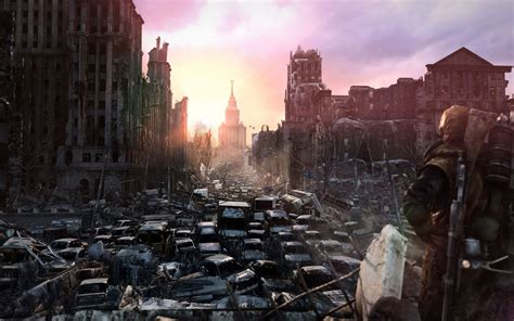 video Games, Concept Art, Metro 2033, Apocalyptic ...