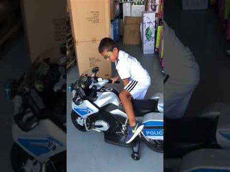 VIDEO MOTO POLICIA 12V ELECTRICA INFANTIL EN INDALCHESS ...