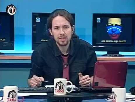 VIDEO  Pablo Iglesias:  Chávez vivo es peligroso pero ...