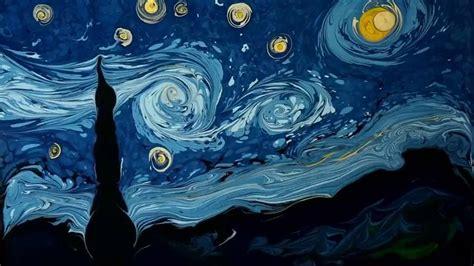 Vídeo: Pintando un 'van gogh' sobre agua | Cultura | EL PAÍS