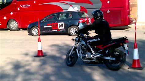 video prácticas circuito corto moto a2 autoescuela MM ...