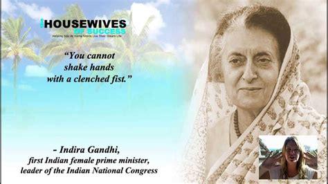 Video Quotes | Successful Women   Indira Gandhi Quote ...