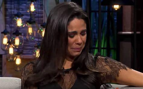 [Video]  Terminé en el oncólogo , Paola Rojas rompe en ...
