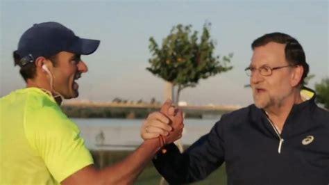 Vídeo: Vídeo: Rajoy  camina rápido  por España para no ...