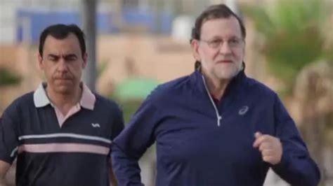 Vídeo: Vídeo: Rajoy sigue  caminando rápido  y llega a ...