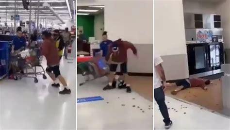 VIDEO VIRAL: Empleado de Walmart noquea a cliente que lo ...
