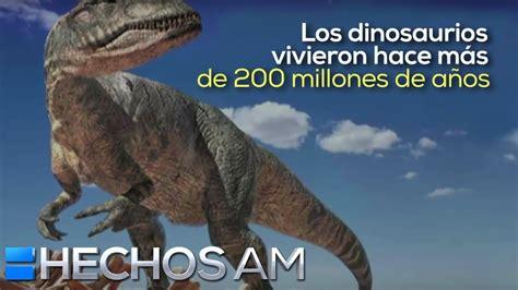 Videoinfografía: Breve información sobre los dinosaurios ...