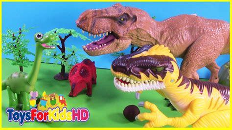 Videos de Dinosaurios para niños El Dinosaurio EgoÍsta ...