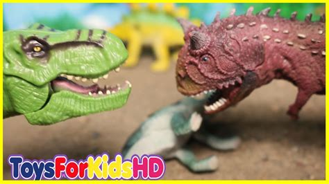 Videos de Dinosaurios para niños Juguetes de Dinosaurios ...