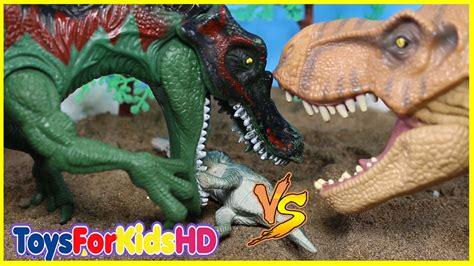 Videos de dinosaurios para niños  Las Mejores Luchas de ...